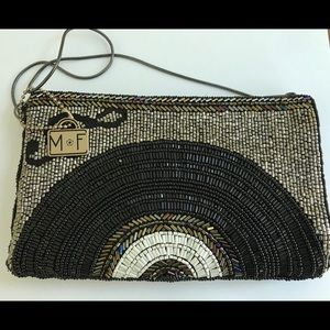 Mary Frances crossbody phone bag-off the record